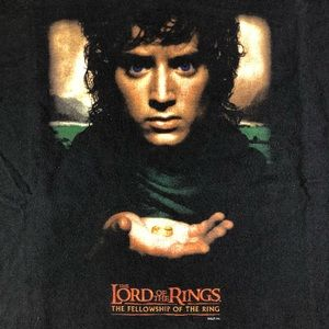 Screen Stars Shirts - Lord Of The Rings Fellowship Of The Ring Movie Tee